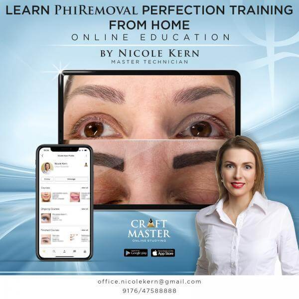 PhiRemoval perfection training course schulung